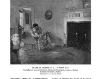 """Academy Notes, Buffalo Fine Arts Academy, Albright Art Gallery, Buffalo, NY, """"Second Annual Exhibition Selected American Paintings at the Albright Art Gallery First Paper"""", July, 1907, Volume 3, Number 2, page 17-22, not illustrated"""