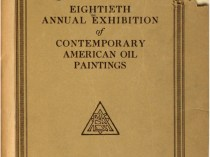 "1914 Boston Art Club, Boston, MA, ""Eightieth Exhibition"", January 30 - March 1"