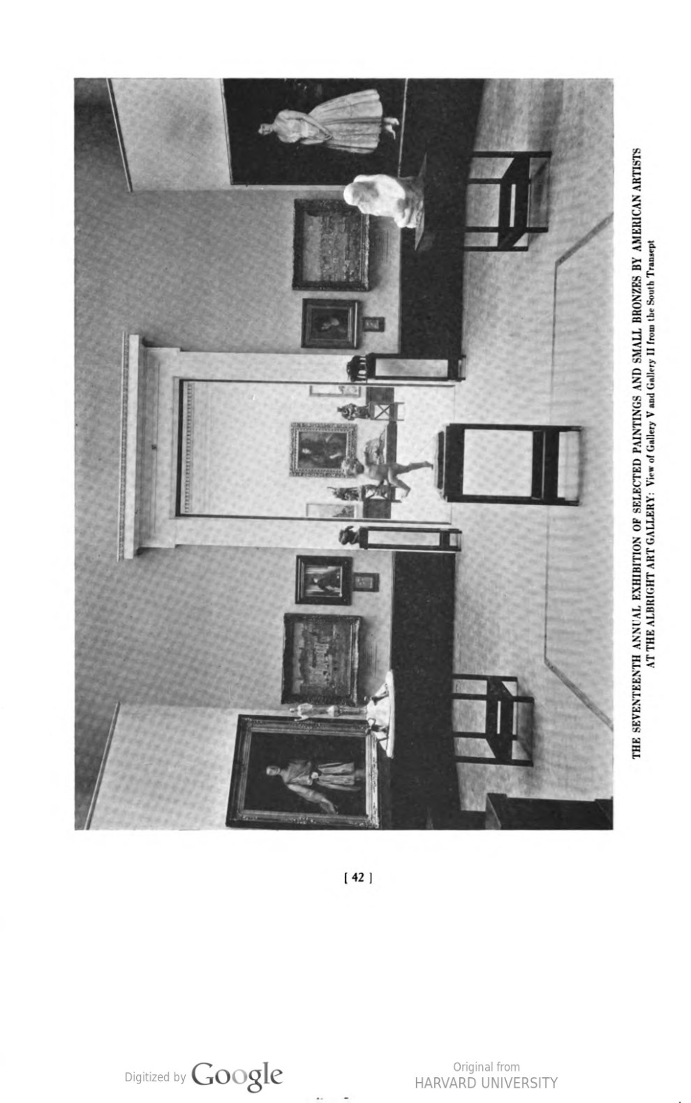 "Academy Notes, Buffalo Fine Arts Academy, Albright Art Gallery, Buffalo, NY, ""The Seventeenth Annual Exhibition of Selected Paintings and Small Bronzes by American Artists at the Albright Art Gallery"", July - December, 1923, Volume 18, Number 2, page 42-58, not illustrated."