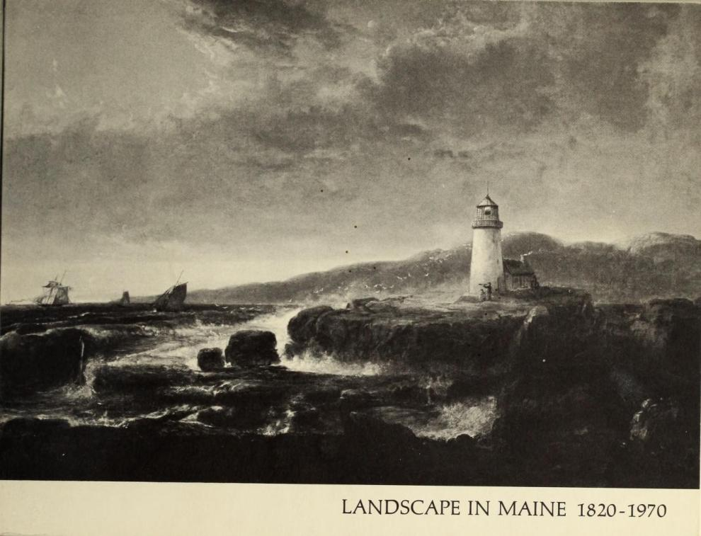 "1970 Maine Federation of Women's Clubs, Limerick, ME, ""Landscape in Maine 1820-1970: Sesquicentennial Exhibition"", April 4 – May 10, Colby College Art Museum, Waterville, ME; Bowdoin College Museum of Art, Brunswick, ME, May 21 – June 28; Carnegie Gallery, University of Maine, Orono, ME, July 8 – August 30."