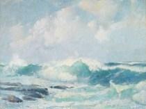 Emil Carlsen Surf, ca1914