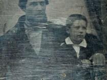 Photo of Carl Adolph Junius Carlsen [1815-?] and Janus Michael Carlsen [1843-1917]