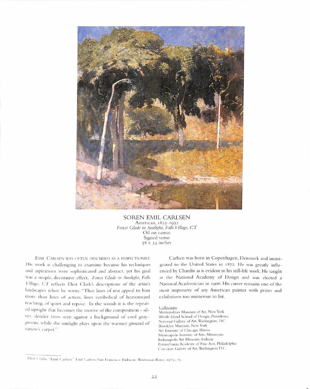 """The Greenwich Gallery, Greenwich, CT, """"Gallery Collateral"""", ca.1995, illustrated: color on page 22"""