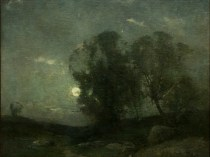 Emil Carlsen : Moonlight, ca.1901.