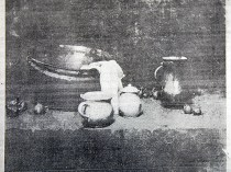 "New York Tribune, New York, NY, ""Still Life"", January, 11, 1914, unkown page, illustrated: b&w."