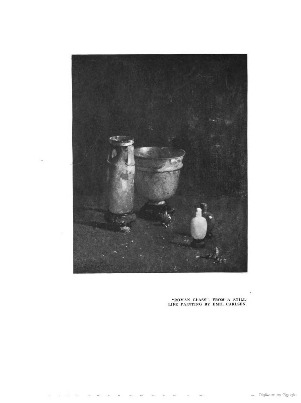 "The Touchstone and the American Art Student Magazine, New York, NY, ""Still Life Paintings As Inspiration for Home Decoration: Illustrated By The Work of Emil Carlsen"", Mary Fanton Roberts Incorporated, 1920, Volume 7, page 110-116, illustrated: b&w"
