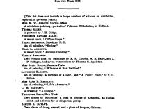 "1885 Museum of Fine Arts, Boston, MA, ""Loan Exhibition"", January"