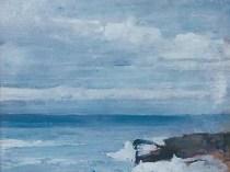 Emil Carlsen : Seascape no. 6, ca.1930.