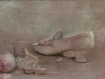 Emil Carlsen : The kitten heel, 1890.