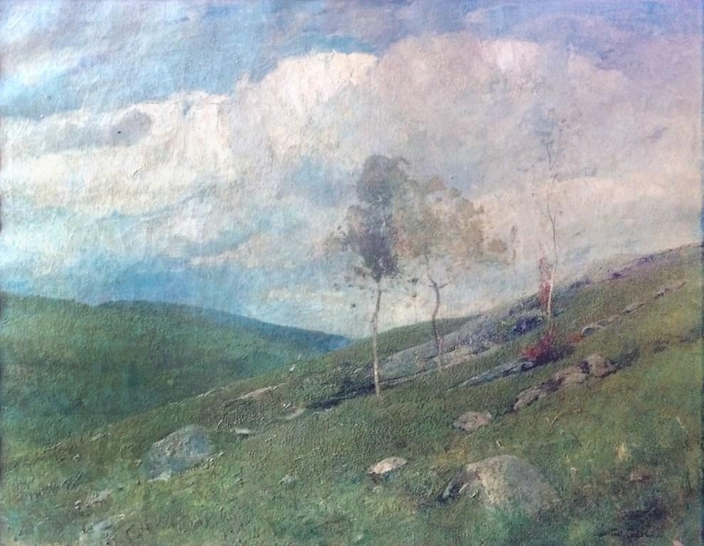 Emil Carlsen : Foothills—Canaan, Connecticut,ca.1907.