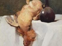 Emil Carlsen : Table top still life, 1894.