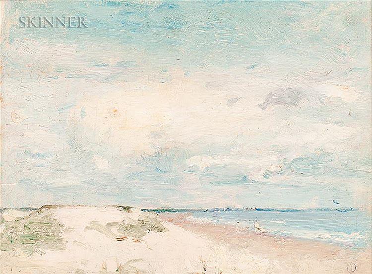 Emil Carlsen : Coastline study, ca.1922.