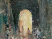 Emil Carlsen : Marketplace at St. Thomas, ca.1915.