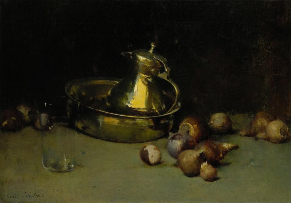 Emil Carlsen : Still life, ca.1890.