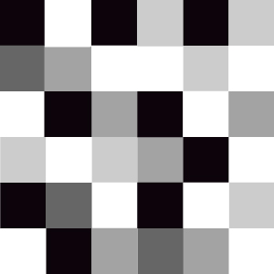 A gradient fading from black to white