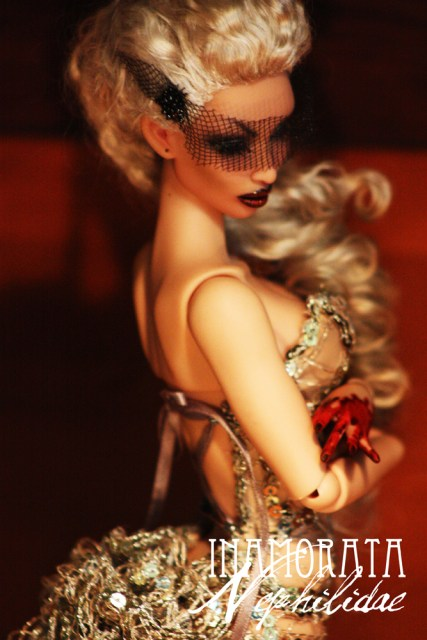 Nephilidae Inamorata OOAK Charo Busty Latte art doll bjd haute couture emiliacouture em'lia