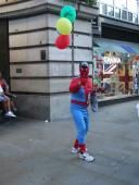 SPOTTED: Spider-man in London