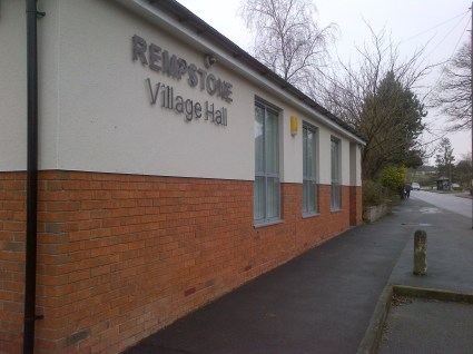 Rempstone village hall - more modern than a lot of places