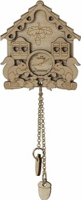Tatty Devine 15th Birthday Cuckoo Clock brooch