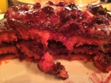 Red Velvet pancakes at The Diner