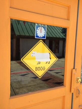 Cute sign in Salem