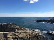 The view from Portland Head Light