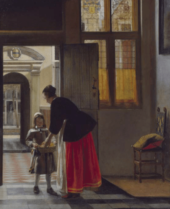 Boy Bringing Bread, 1663