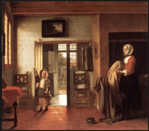 The Bedroom, 1658-60