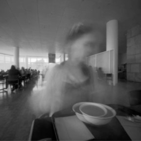 7-27-10. Lunch at the Getty, L.A. 20 sec. pinhole exp.
