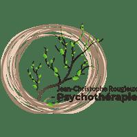 Logo de Jean-Christophe Rougieux, psychothérapie réalisé par Emilia Simandy webdesigner graphiste à Lille