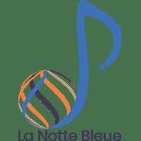 Logo de La Notte Bleue réalisé par Emilia Simandy webdesigner graphiste à Lille