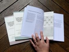 Texte et image illustrant les arguments sur papier vergé