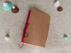 carnet, papeterie, ethnique, broderie, couleur, papier, carton, fil