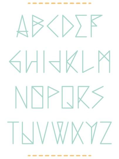 typographie, broderie, linéaire, graphique