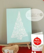 christmas, tags, label, greeting cards, tree, prints, goodies, koru, holiday, santa, elf, merry
