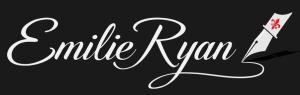 Emilie Ryan author - black brand logo