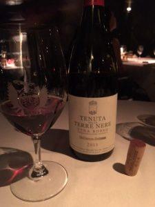 Tenuta della Terre Nere Etna Rosso 2013 wine bottle