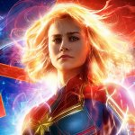 'Captain Marvel' Poster Art (SOURCE: Marve Studiosl)