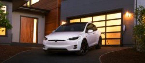 Tesla Model X cargando