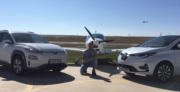 Hyundai Kona Electric 39 kWh Vs Renault Zoe ZE50 - Emilio J. Fernández Rey en Air Marugán