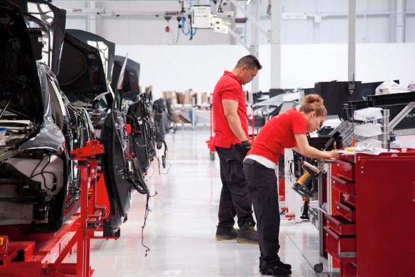 Fábrica de Tesla