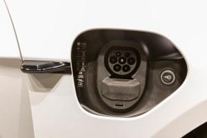 Conector CCS del Porsche Taycan