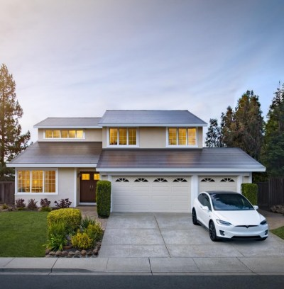 Tesla Model X and Solar Roof