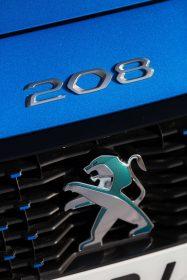 Emblema Peugeot e-208