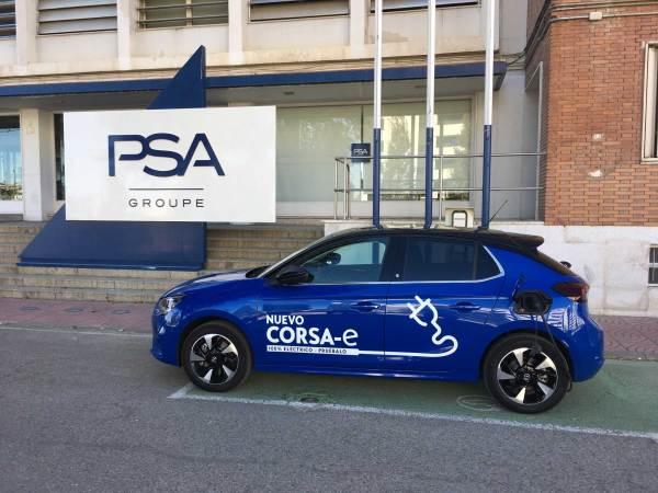 Opel Corsa-e - Grupo PSA