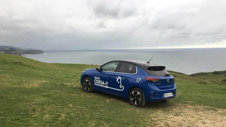 Opel Corsa-e en Gerra (Cantabria)