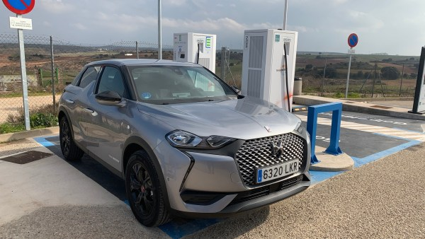 DS3 E-Tense en EasyCharger Sarracín