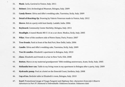 DIGITAL PAREIDOLIA – A Personal Index Of Facebook's Erroneous Portraits by Emilio Vavarella