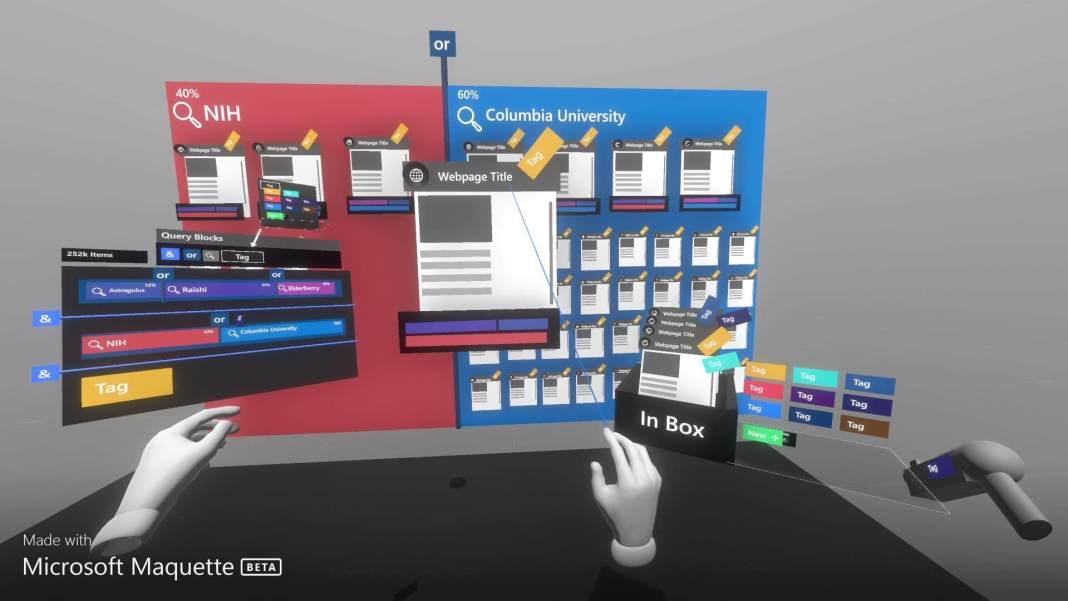 Maquette Microsoft