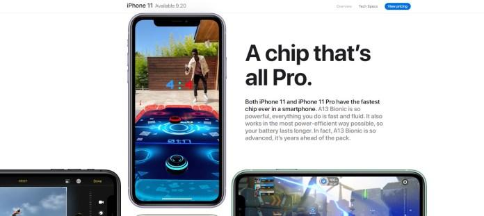 iPhone XI Realidad Aumentada